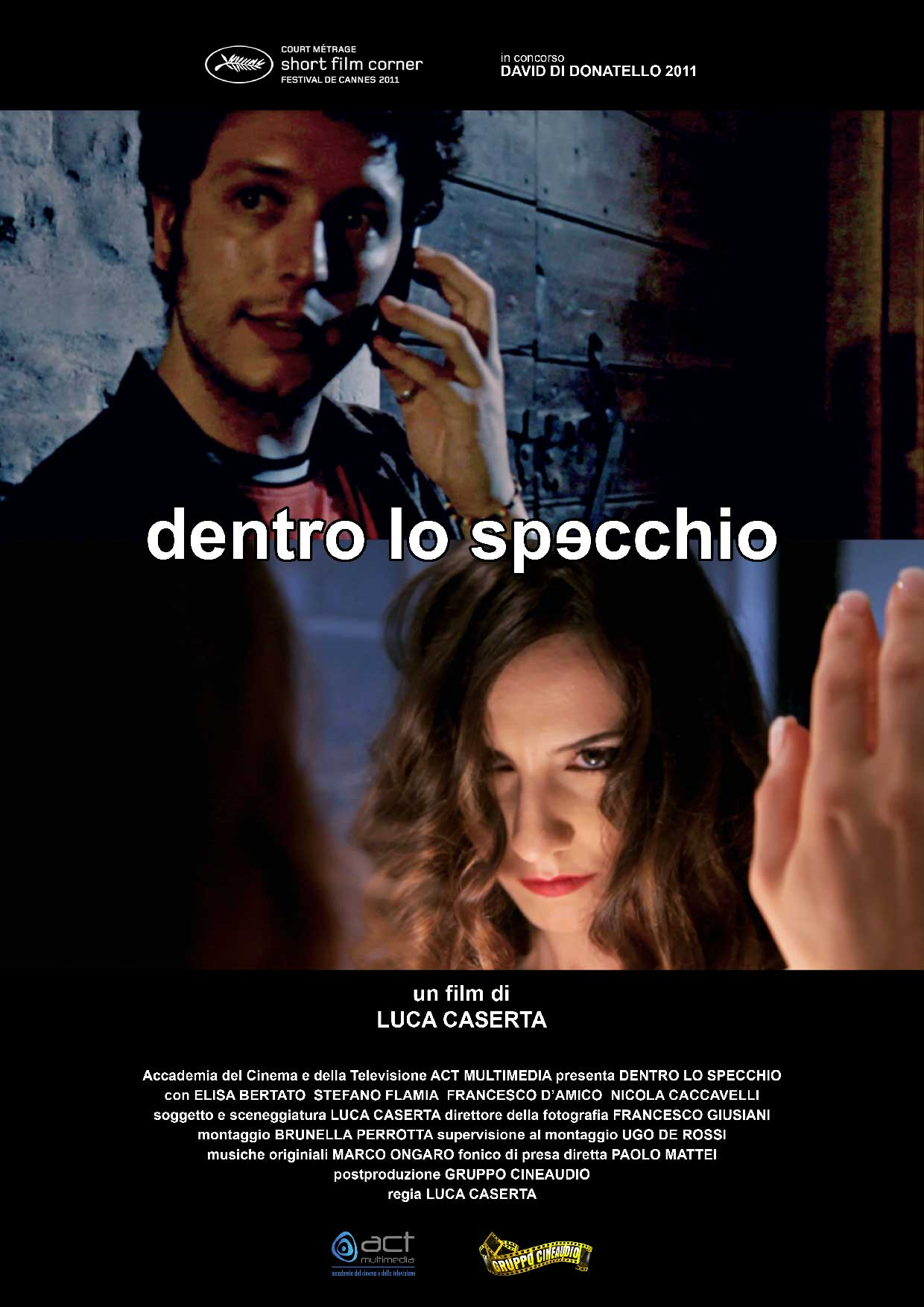 Dentro lo specchio nuove officine cinematografiche - Lo specchio film ...